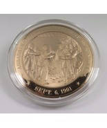 Sept. 6, 1901 Assassination Of President McKinley Franklin Mint Bronze Coin - £9.77 GBP