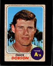 1968 TOPPS #62 CHUCK DOBSON GOOD CREASES *178403 - $1.75