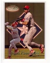 1999 Topps Gold Label #65 Juan Gonzalez Rangers Collectible Baseball Card - $0.99