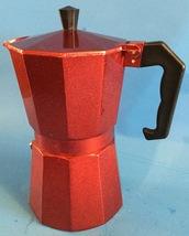 Red Aluminum Stove top Espresso Maker  - $14.99