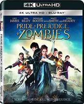 Pride + Prejudice + Zombies [4K Ultra HD + Blu-ray, 2016]