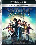 Pride + Prejudice + Zombies [4K Ultra HD + Blu-ray, 2016] - $14.95