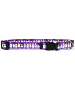 Large Ghost Party Dog Collar 18-28 inch - $11.79