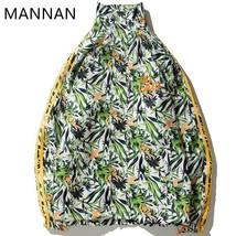 MANNAN Winter Jacket Men Modis Men  Weed  Windbreaker Harajuku  Streetwe... - $67.92