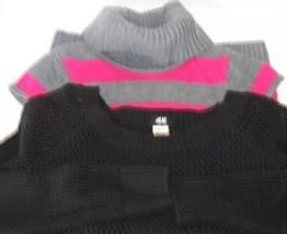 Lot of 2 Take Sweater Dress KiD Girl Fuschia St... - $16.68