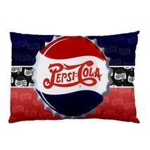 "NEW Pepsi Cola Retro Logo Pillow Case 30""X20"" F... - $19.00"
