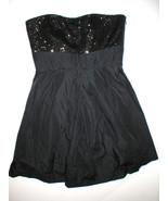 New Womens NWT Dress 14 Ralph Lauren Sequin Black Designer Strapless Str... - $398.00