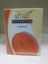Sri Sri Ayurveda Glycerin soap 75gm For Soft,Re-hydrated & Young Skin Fr... - $6.68
