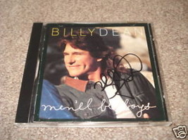 Billy Dean Signed Autographed CD Cover Photo Men'll Be - $14.99