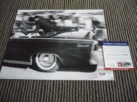CLINT HILL SIGNED 8x10 PHOTO SECRET SERVICE AGENT PSA CERTIFIED JOHN KEN... - $89.99