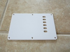 Crescent Guitar Tremolo Cover Back Plate Parts Project Strat Style - $4.99