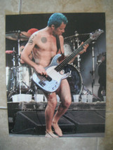 Flea Michael Balzary Red Hot Chili Peppers Live Color 11x14 Promo Photo - $9.99