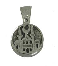 NICE Kaabah Ka'aba Sacred Mosque House of Allah Sterling Silver Islam Jewelry Ch - $20.69