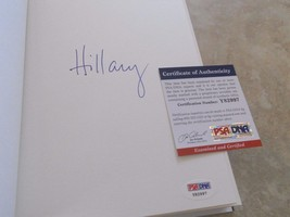 Hillary Clinton Hard Choices Signed Autographed Book PSA Certified Presi... - $299.99