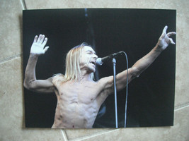 Iggy Pop The Stooges Live Color 11x14 Promo Pho... - $9.99