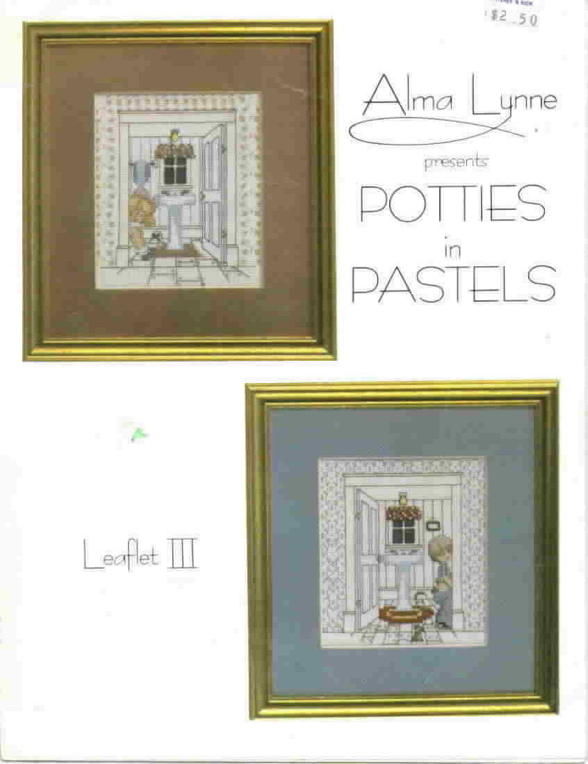 Alma lynne presents potties in pastels