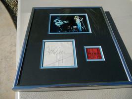 Jimmy Page Led Zeppelin 1973 Signed Cut Framed W Ticket & Photo PSA Cert... - $1,799.99