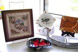 Vintage Assorted Ceramic Ashtrays Lot 1  - €25,16 EUR