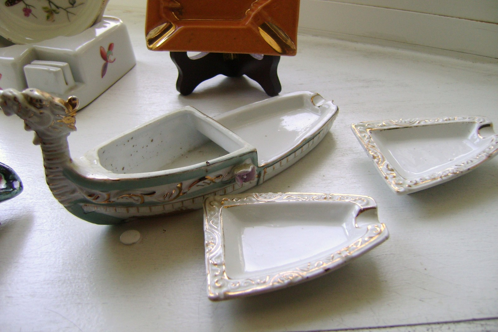 Vintage Assorted Ceramic Ashtrays Lot 1