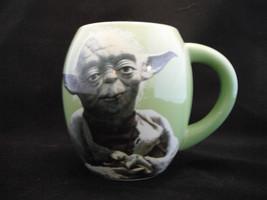 "NEW Star Wars Lucasfilm 2010 Yoda Jedi Master Coffee Cup Mug  5"" May the... - $13.99"