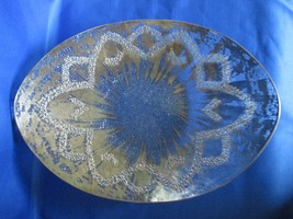 Two (2) Dorothy Thorpe  Silver Splash Braided Pattern Bowl/Tray  Mid Cen... - $100.00