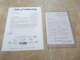 Paul Scofield Actor Signed Autographed 6x8 Handwritten Letter PSA Certif... - $199.99