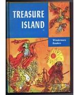 1956 Treasure Island 3rd Print ORIGINAL Vintage Hardback Book Windermere - $19.79