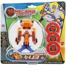 Pasha Mecard Noonik Mecardimal Turning Car Transformation Toy Action Figure image 4