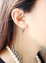 Fashion Punk Tassel Earrings - $6.29
