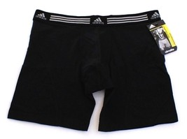 Adidas ClimaLite Sport Performance Black Boxer Brief Underwear Men's NWT - $18.74
