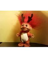 Russ Christmas Reindeer Troll with Red Hair - $23.75