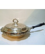 International Silver Silver Plated Chafing Covered Pan with Wooden Handle - $20.00