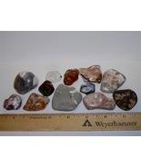 12 Unique Polished Rocks--Over 1/2 Pound! - $4.99