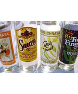 Stoltz Vodka  and Tequila  Liquor Shot Glasses - $15.00