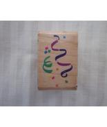 Posh Impressions Confetti Stamp Z173-C  Streame... - $1.99