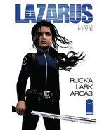 lazarus issue 5 [Comic] [Jan 01, 2013] Greg Ruc... - $2.99