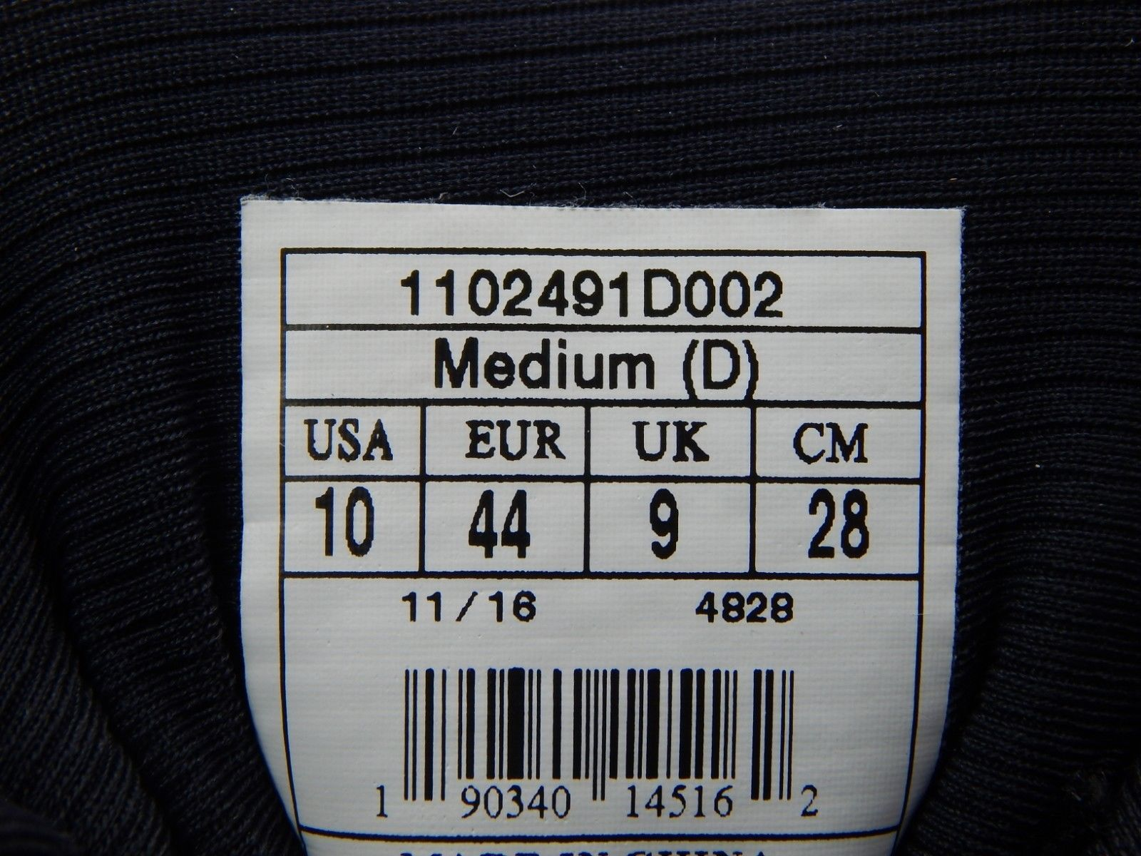 Brooks Transcend 4 Size US 10 M (D) EU 44 Men's Running Shoes Black 1102491D002 image 12