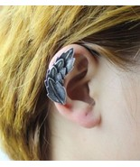 Trendy Vintage Leaves Shaped Ear Cuff(Antique Silver) - $5.99