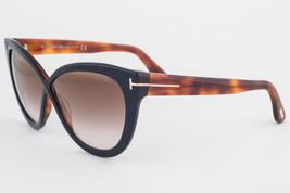Tom Ford Arabella Black Havana / Brown Gradient Sunglasses TF511 05G - $165.62