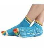 5-Toe Colorful Gym Non Slip Massage Toe Socks Full Grip Fabulous new ar... - $8.50