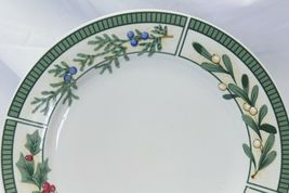 Fairfield Wintergreen Plates and Bowls Lot of 15  Christmas image 3