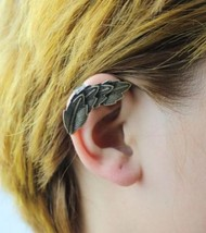 Trendy Vintage Leaves Shaped Ear Cuff(Antique Bronze) - $5.99
