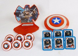3D Cake Topper Kit, Captain America, The Winter Soldier w/Matching Cupcake Rings - $14.65