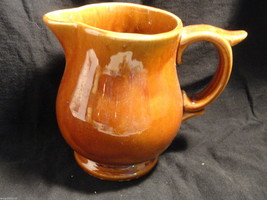 Brown McCoy Pottery Milk Pitcher or Creamer Mint - $4.99