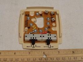 Robertshaw SB-4A-5AJ Thermostat Subbase DA490-40K Heat Cool Fan Control - $7.23