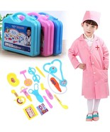 Pretend Play Doctor Toys Learning Nurse Role Doctor Medical Kit Roleplay... - £11.23 GBP
