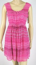 Calvin Klein Pink Dress Sleeveless Polyester Size 6P New 9395 - $34.64