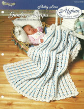 Needlecraft Shop Crochet Pattern 942060 Gumdrop Stripes Afghan Collector... - $4.99