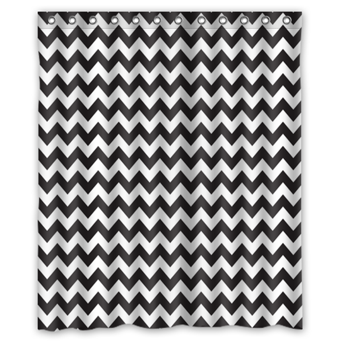 Primary image for Chevron #02 Shower Curtain Waterproof Made From Polyest