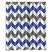 Chevron #05 Shower Curtain Waterproof Made From Polyest - $29.07+